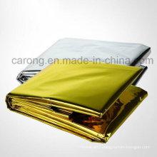 Survival Thermal Foil Aluminum Emergency Blanket