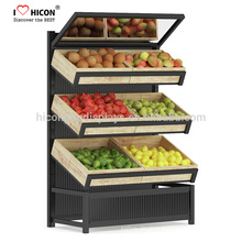 Confidentially Will Always Be The Key To All That We Do Supermarket Floor Sd Three Layers Fruit Vegetable Display Stand