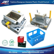 high quality plastic injection milk crate mould maker