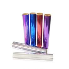 Yanyan Supplier Metallic Hologram Heat Transfer Vinyl sheet roll HTV for Clothing Fabric Logo