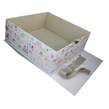 Venta caliente hecho a mano Mulberry Hardcover Cometic papel cajas