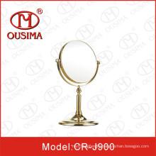 Standing Magnifying Desktop Makeup Mirror Used in Hotel