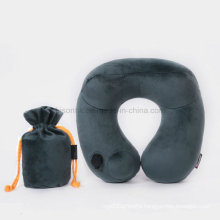 2016 High Quality Self Automatic Beach Pillow Camping Travel PVC Inflatable Pillow Pillow for Neck Rest