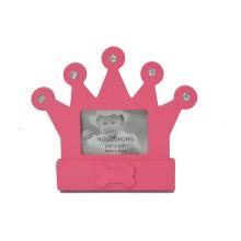 Красивая корона фоторамки для подарка для новорожденных
