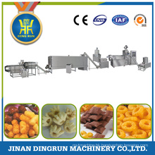 twin screw extruder corn puff snack extruder