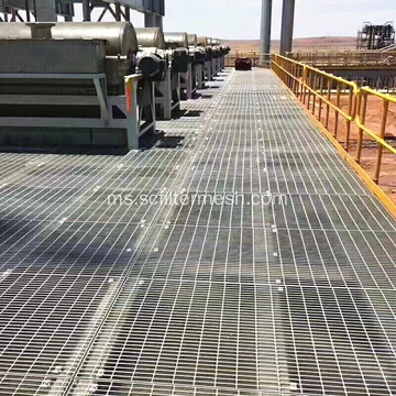 Tapak / Platform Tangga Industri Grating Steel Bar Grating