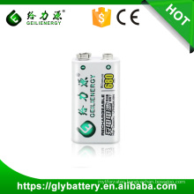 Wholesale price High Capacity Geilienergy Polymer 9V 680mah Rechargeble Battery