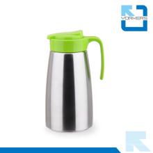 Canapé à thé et à thé à eau froide en acier inoxydable coloré 304 avec couvercle en plastique