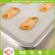 Papel de pergamino del estilo 40g de China Virgin Pulp de la fábrica para cocer