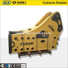 Excavator mounted rock breaker hammer/hydraulic breaker manufacturer