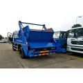 2019 new Dongfeng cummins 170hp skip loader garbage truck