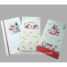 Hot Sale New Design Holiday Greeting Cards / Christmas Card with Envelop