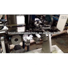 4 axis two assembly stations toilet brush tufting machine