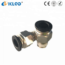 KLQD Brand NPT Thread Pneumatic Fitting Custom Type With Black Button PC3/8-NO2