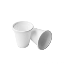 Corn starch biodegradable plastic cup custom biodegradable cup for hot and cold drinking