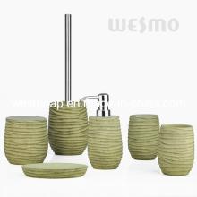 Texturas de madera Accesorios de baño de poliresina (WBP0832A)