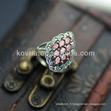 Antique anneaux de luxe bijoux en argent thaïlandais