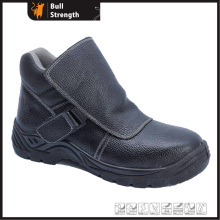 Genuine Leather with Steel Toe Cap Welding Safety Boot (SN5375)