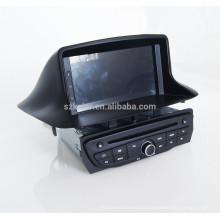 Fabricante Android Car GPS DVD Radio Estéreo para Renualt Megane 3 Fluence 2014 con Bluetooth / SWC / Virtual 6CD / 3G / ATV / iPod