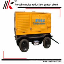 Generador diesel a prueba de sonido movible 30KVA 50kva 60kva 100kva precio 150kva