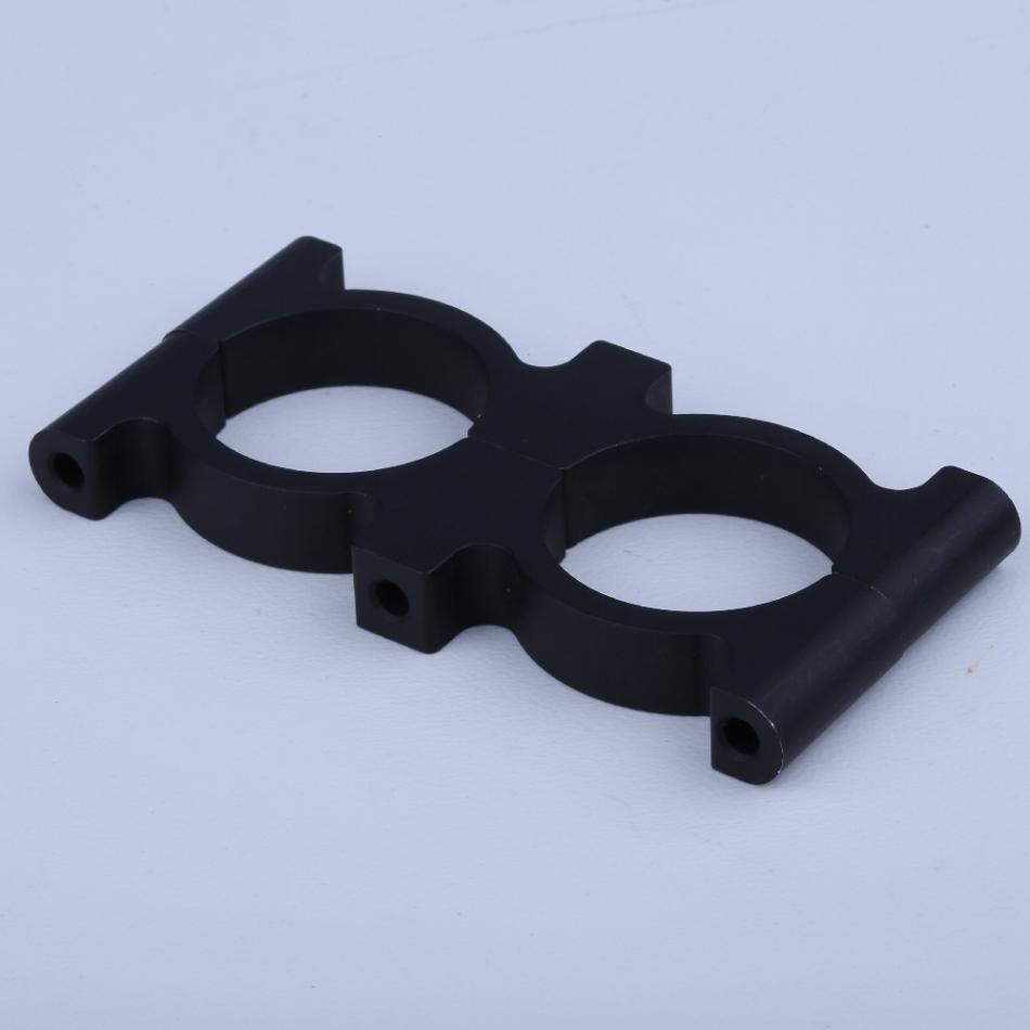 aluminum anodized carbon fiber tube bracket