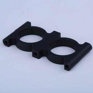 Runde Kohlefaser-Rohrschelle Aluminium eloxierte Halterung
