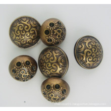 Metal Button for Coat and Other Garments