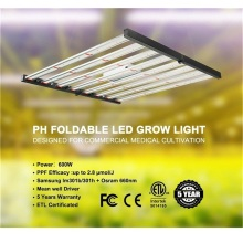 Luz de cultivo LED plegable de espectro completo