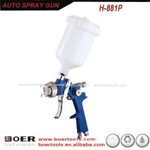 HVLP Auto Pintura pistola gravidade copo H881