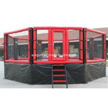 Jaula de MMA combates de gimnasio equipo