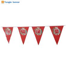 Красочные дешевые флаги ткани овсянка для партии