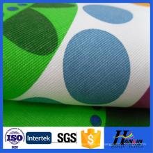 Umweltfreundliche gefärbte bedruckte Leinwand Stoff für Tasche