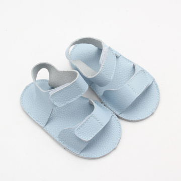 Blue Cute Genuine Soft Sole Baby Sandals