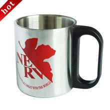 Rostfreier Stahl Kaffee-Haferl, Camping Edelstahl Tasse