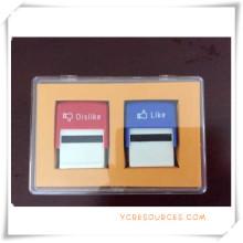 Juego de sellos de rodillo con entintado automático para regalos promocionales (OI36019)