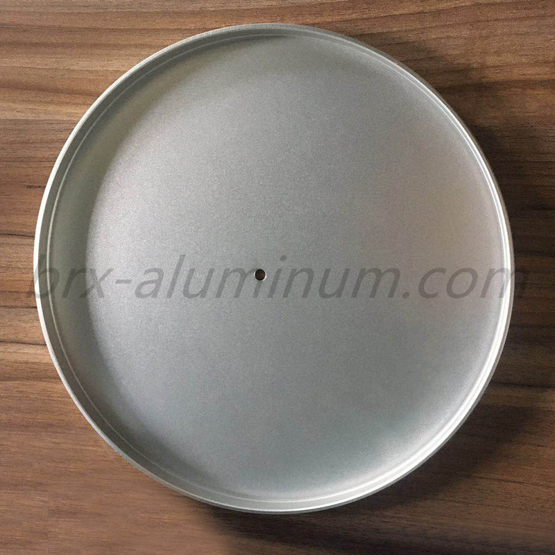 Anodized aluminum alloy tray