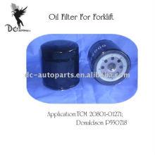 Filtro de óleo de peças de empilhadeira