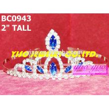 Schöne meistverkaufte einfache Kristallkronen und Tiaras