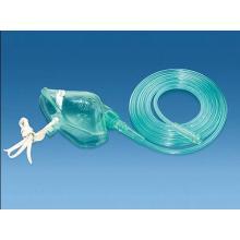 Masque médical d'oxygène en PVC pour usage unique