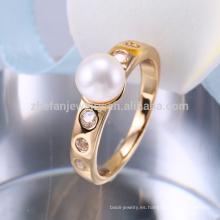 joyería al por mayor de Indonesia, anillos de oro de la joyería de la manera de Europa