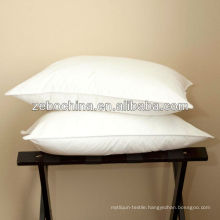 Deluxe design direct factory made 100% cotton custom wholesale hotel blank pillow