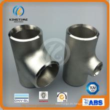 Camiseta reductora de acero inoxidable Ss con accesorios de tubería Ce (KT0277)