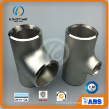 Té de réduction de l'acier inoxydable Ss avec des garnitures de tuyau de Ce (KT0277)