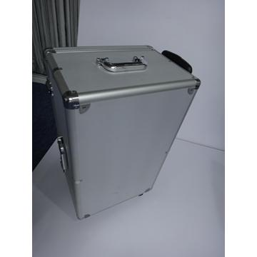 Aluminum Silver Box with Moving Handle