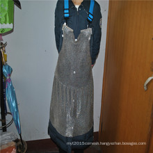 Heat resistance stainless steel safety industrial apron