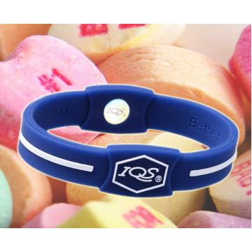 2016 nueva moda wristband de silicona magnética baratos