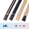 2016 unisex stilvolle einzelne Stift Wölbung PU Gewebe elastischen Gürtel
