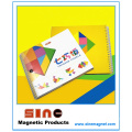 Magnetic Tangram Puzzle 72 Challenges Educational Game Toy for Children