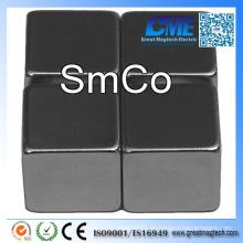 """F1 / 2 """"X1 / 2''x1 / 2"""" Würfel SmCo Samarium Kobalt Magnet"""