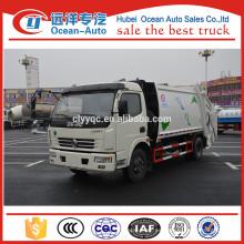 Dongfeng 8CBM usado camión de basura para la venta